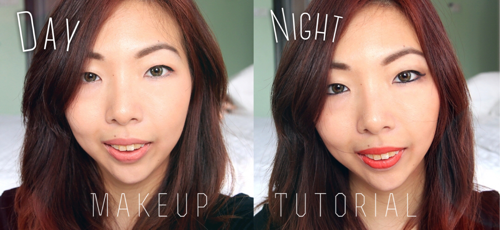 Day to Night Makeup Tutorial using Kiss Me Products