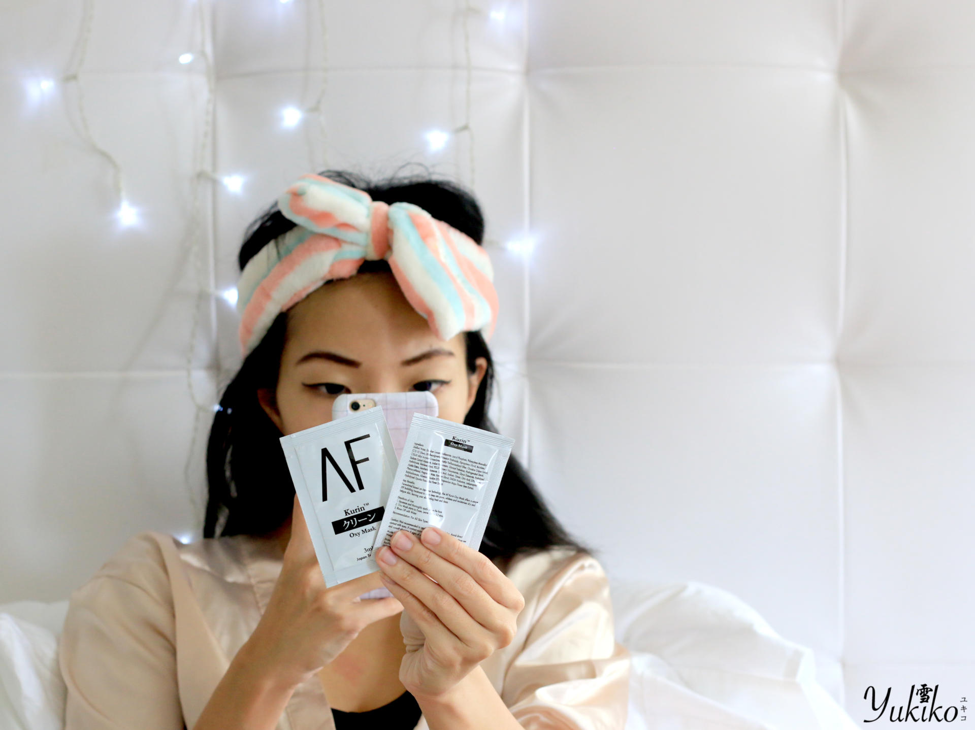 Lazy night with AF Kurin Bubble Mask | 泡泡面膜