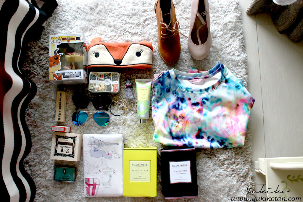 Perth haul and August favs