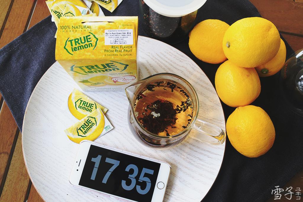 Easy Lemon Tea Recipe with True Lemon